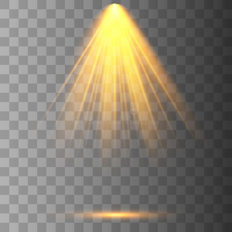 Coleção da iluminação da cena ilustração royalty free
