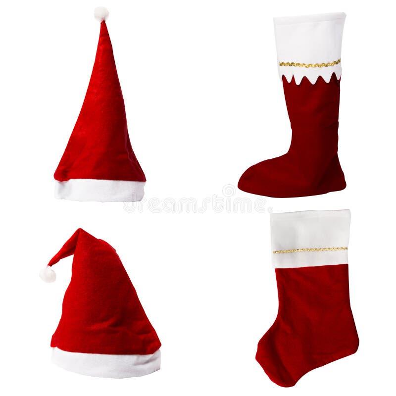 Coleção da roupa do Natal foto de stock royalty free