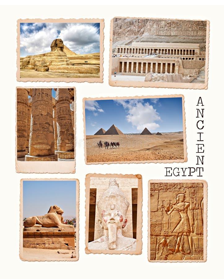 Coleção de Egipto imagem de stock