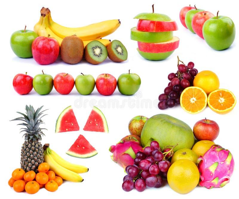 Coleção do fruto imagens de stock