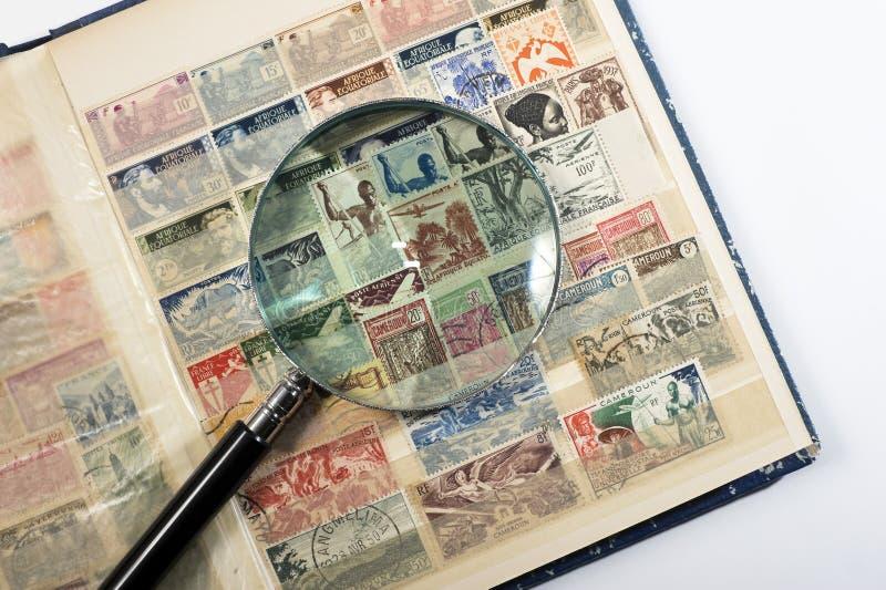 Coleção de selo imagens de stock royalty free