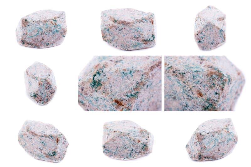 Coleção de Stylebite mineral de pedra fotos de stock