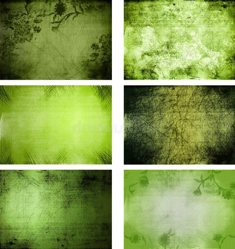 Coleção de texturas do fundo do grunge foto de stock royalty free