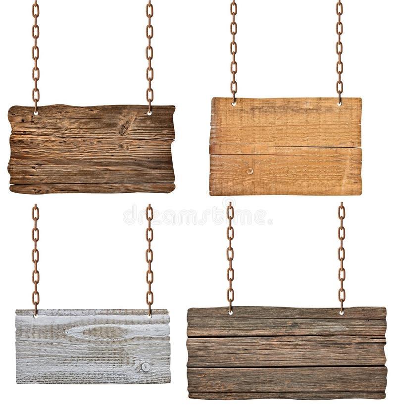 Download Sinal de madeira foto de stock. Imagem de metal, marrom - 29842368