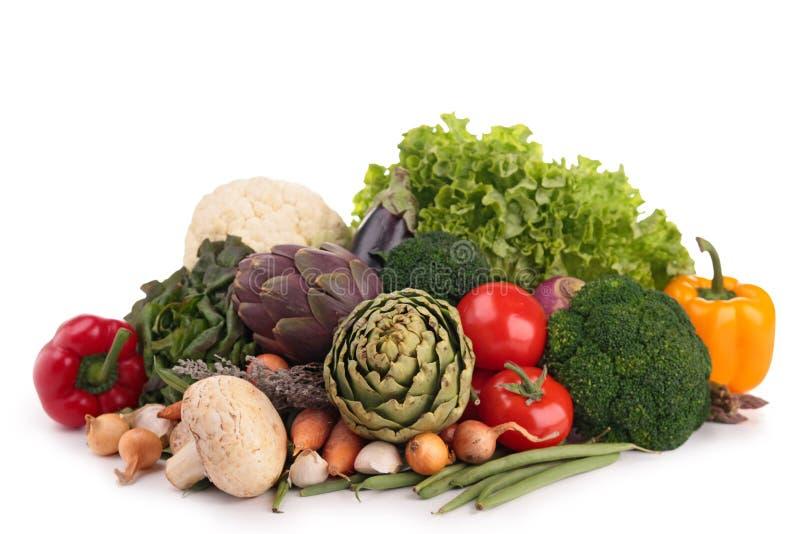Vegetais crus imagem de stock