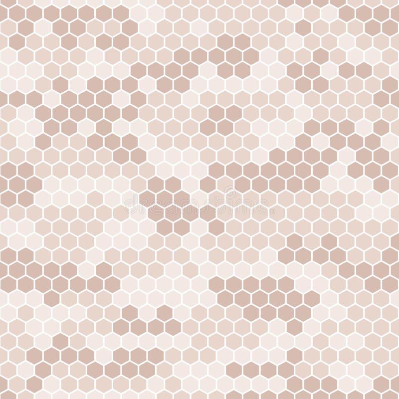 Coleção digital da camuflagem do pixel do vetor sem emenda - urbana, deserto, selva, grupo do camo da neve ilustração do vetor