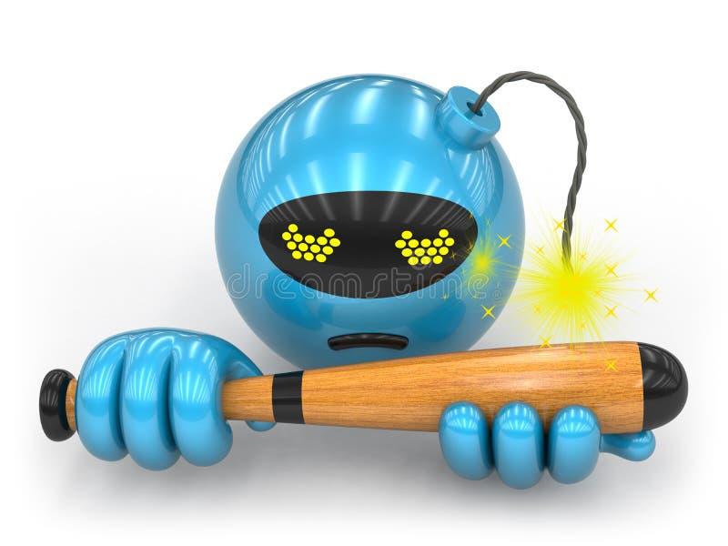 Coleção do brinquedo - impulso aqui ilustração do vetor