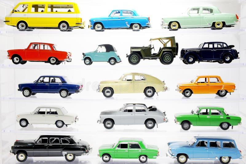 Coleção do carro imagens de stock