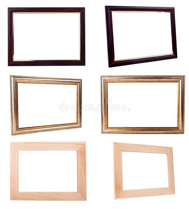 Coleção do quadro imagem de stock