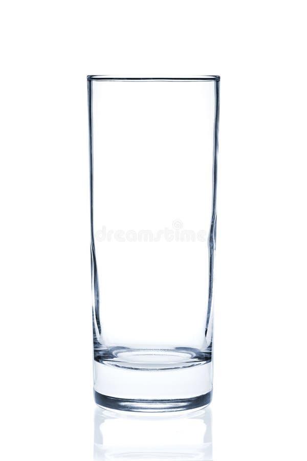 Coleção do vidro de cocktail - Collins fotografia de stock royalty free