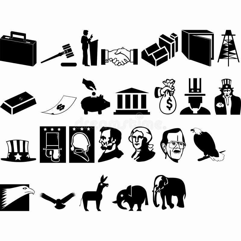 Coleção dos elementos do projeto gráfico de vetor ilustração do vetor