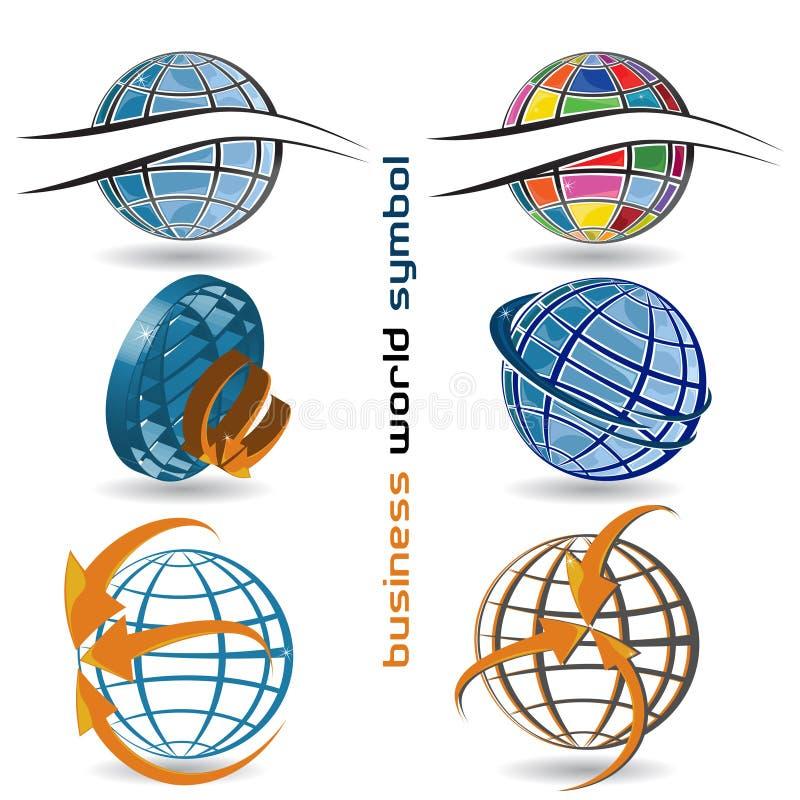 Coleção dos logotipos ilustração do vetor