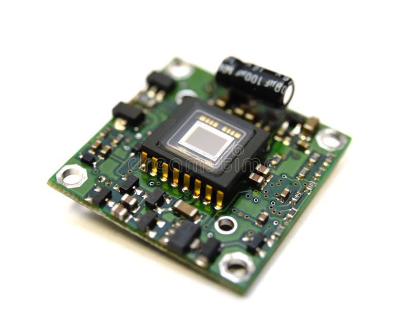 Coleção eletrônica - controle de sensor video do mini digital imagens de stock royalty free