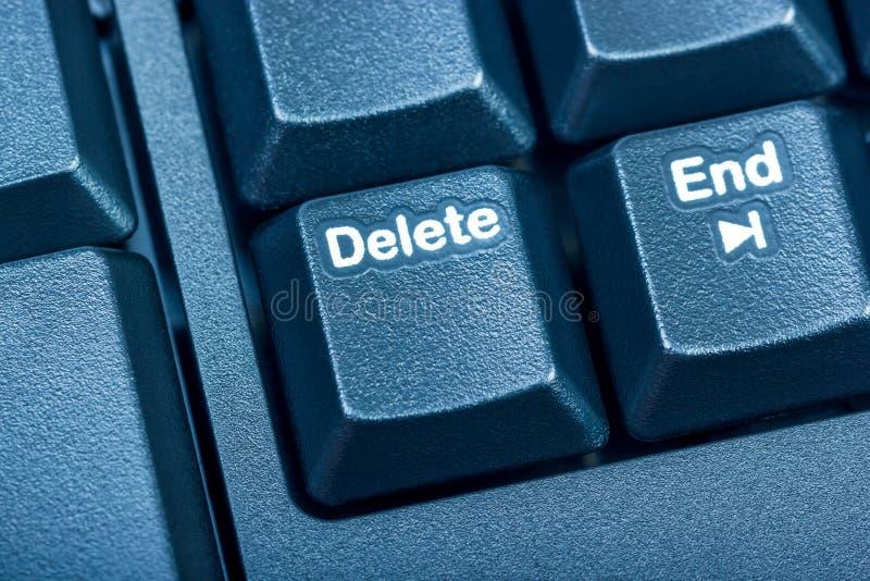 Coleção eletrônica - teclado de computador preto do detalhe O focu imagens de stock royalty free