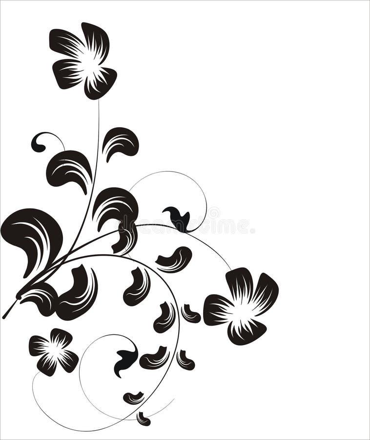 Coleção floral ilustração stock