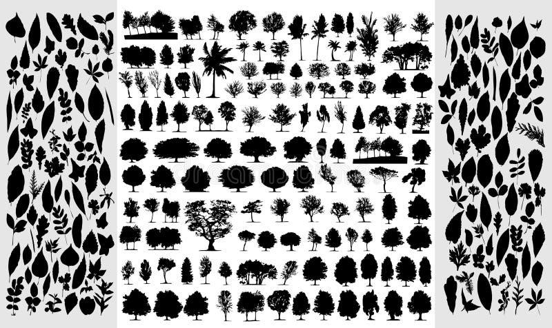 Coleção grande do tr diferente ilustração royalty free