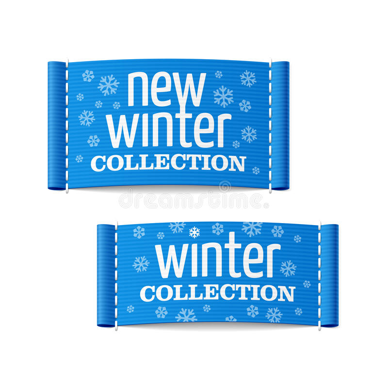 Coleção nova do inverno ilustração stock
