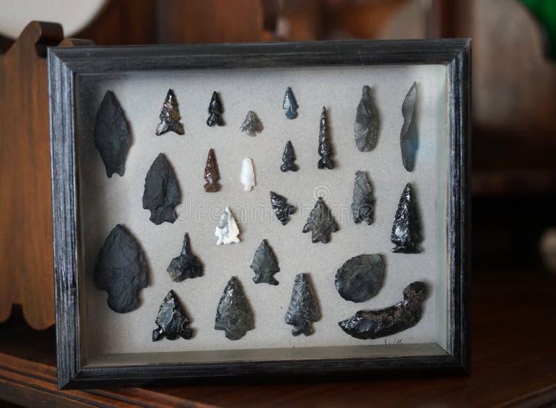 Coleção primitiva da seta imagens de stock royalty free