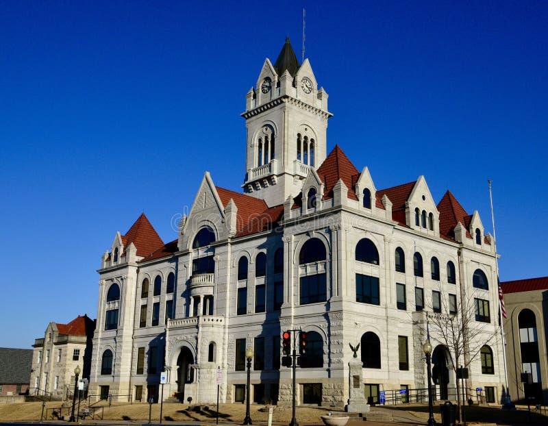 Cole County Courthouse imagen de archivo