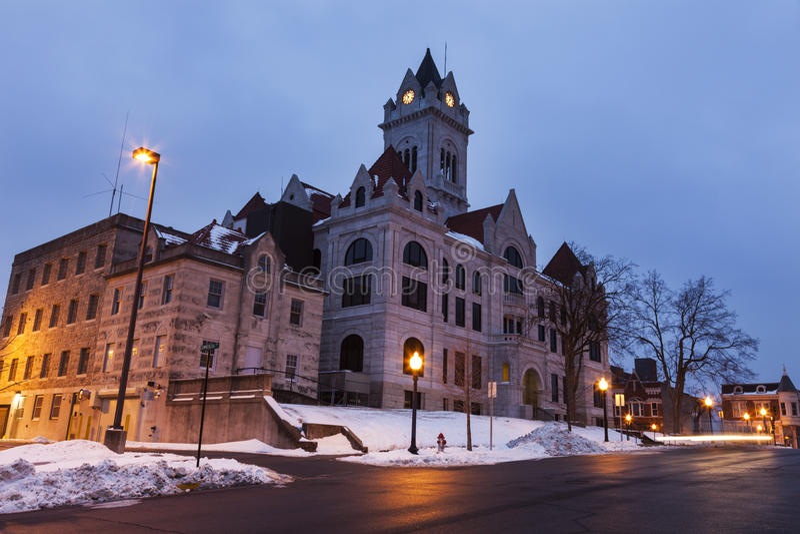 Cole County Courthouse en Jefferson City images libres de droits