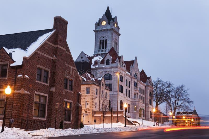 Cole County Courthouse en Jefferson City photo libre de droits