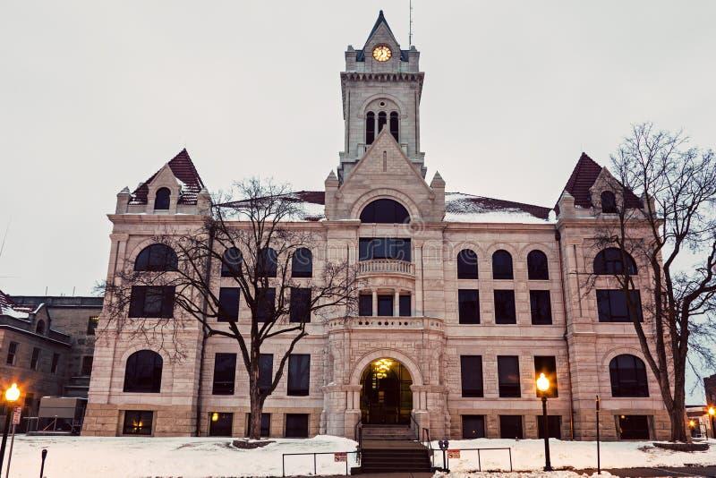 Cole County Courthouse in Jefferson City fotografia stock