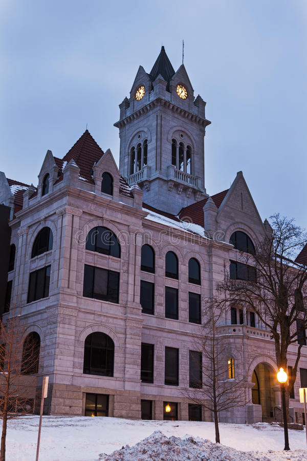 Cole County Courthouse in Jefferson City stock photo