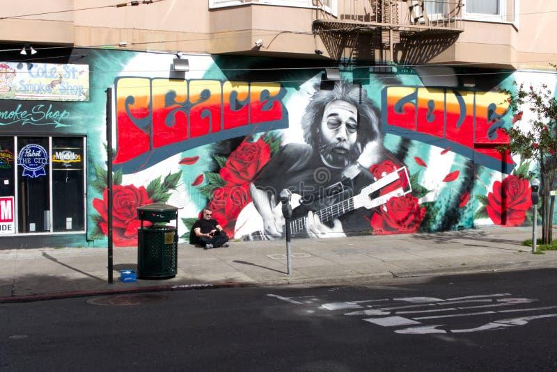Cole Street Mural imágenes de archivo libres de regalías