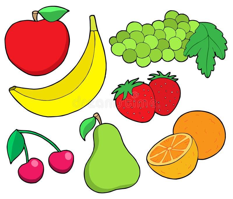 Colección 1 de la fruta libre illustration