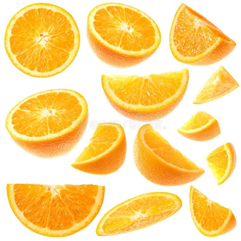 Colección anaranjada imagen de archivo