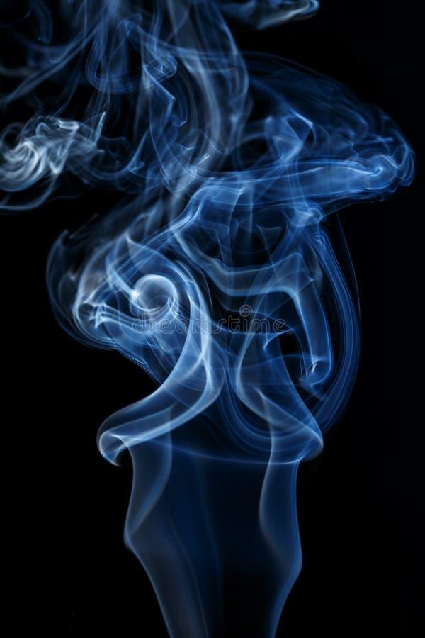 Colección colorida del humo imagenes de archivo