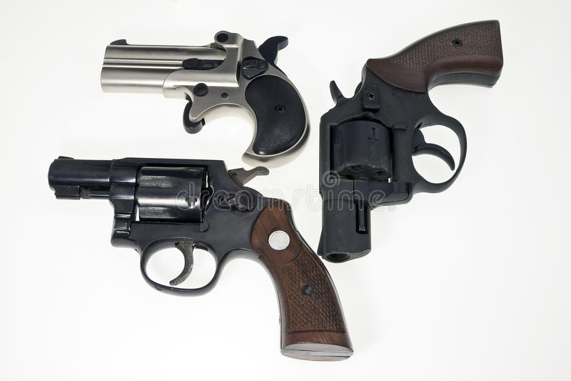 Colección de armas imagenes de archivo
