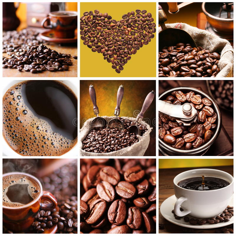 Colección de café. fotos de archivo libres de regalías