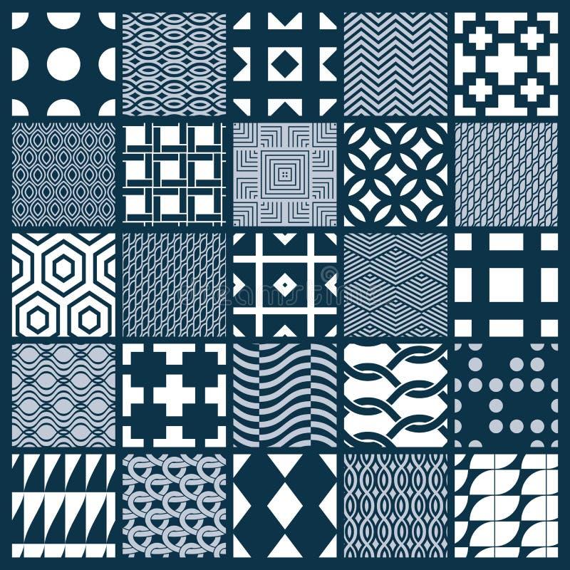 Colección de composiciones inconsútiles del extracto del vector, o simétrico libre illustration