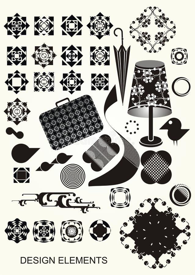 Colección de elementos del vector libre illustration