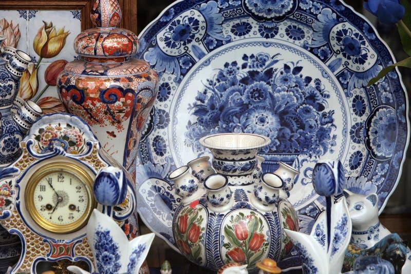 Colección de la cerámica imagenes de archivo