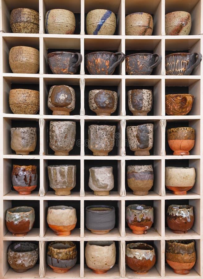 colección de la cerámica imagen de archivo libre de regalías
