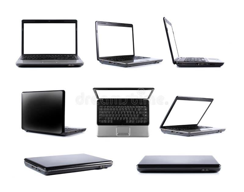 Colección de la computadora portátil imagen de archivo libre de regalías