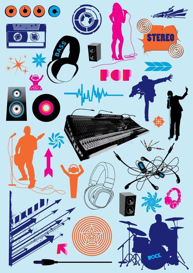 Colección de la música libre illustration
