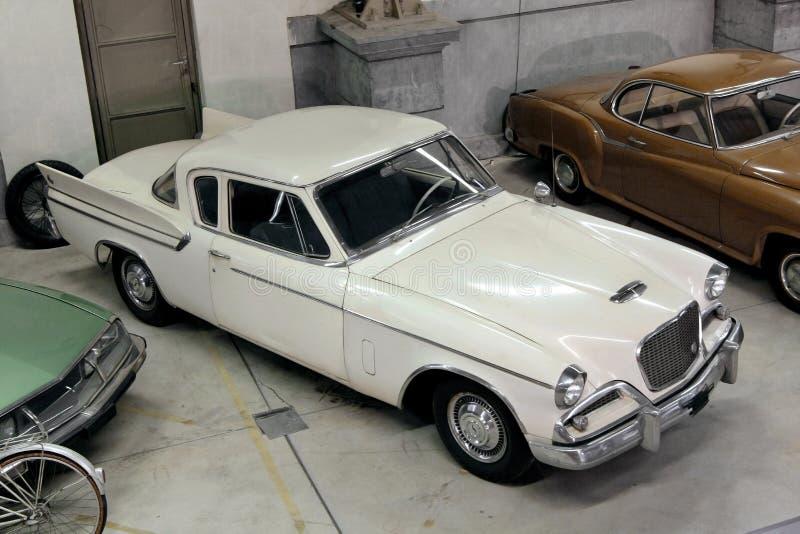 Colección de los coches de la vendimia fotografía de archivo