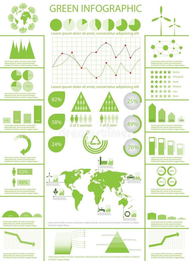 colección de los gráficos del Info libre illustration