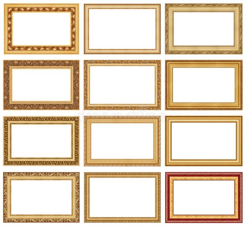 Colección de los marcos 4 fotografía de archivo libre de regalías