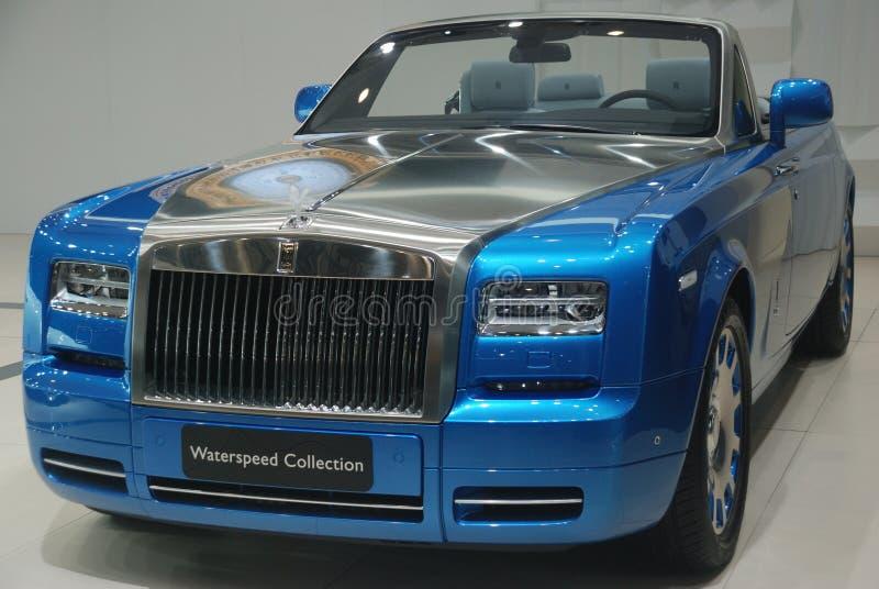 Colección de Rolls Royce Waterspeed fotografía de archivo libre de regalías