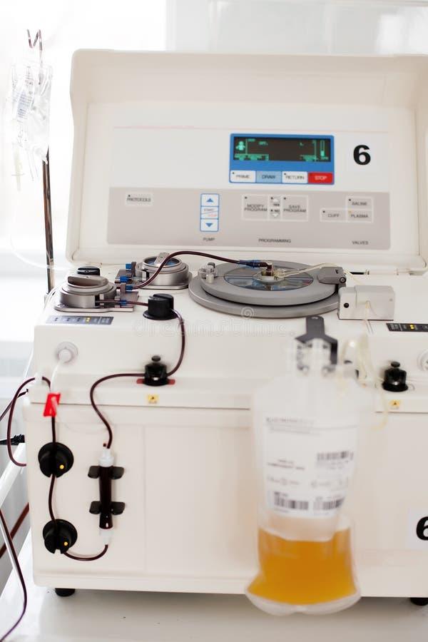 Colección de sangre y de plasma fotos de archivo libres de regalías