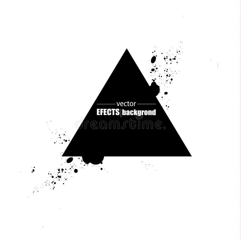 Colección de sellos de los posts del Grunge, círculos Banderas, insignias, logotipos, iconos, etiquetas e insignias fijados textu ilustración del vector