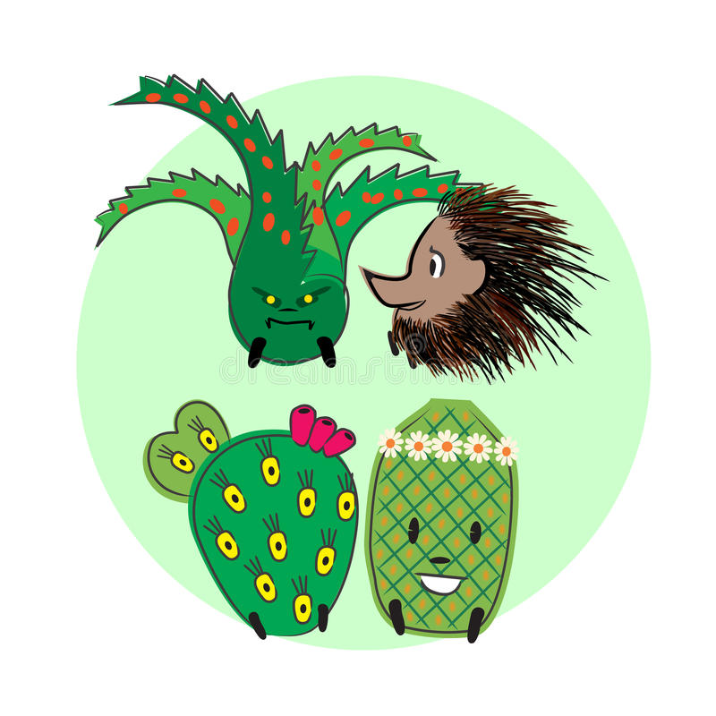 Colección 2 del cactus libre illustration