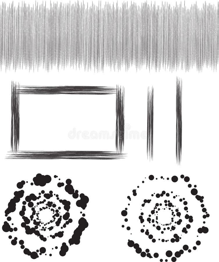 Colección del diseñador ilustración del vector