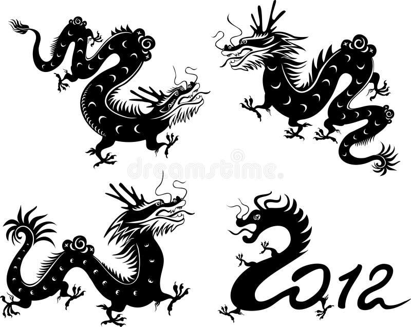 Colección del dragón libre illustration