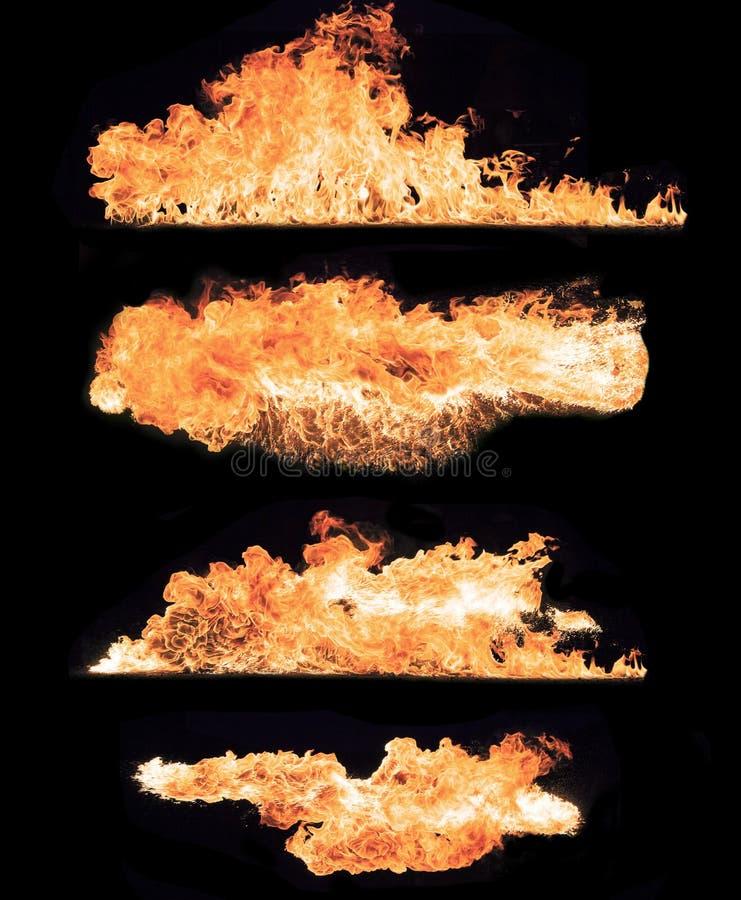 Colección del fuego imagen de archivo