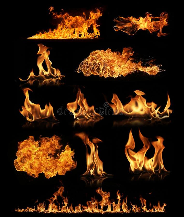 Colección del fuego imagen de archivo libre de regalías